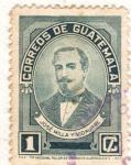 Stamps : America : Guatemala :  Jose Milla y Vidaurre