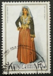 Stamps Asia - Cyprus -  trajes tradicionales