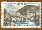 Sellos de Europa - Francia -  LOURDES
