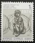 Sellos de Asia - Chipre -  refugiados