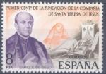 Sellos de Europa - España -  ESPAÑA 1977_2416 Centenario de la fundación de la Compañía de Santa Teresa de Jesús. Scott 2044