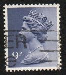 Stamps United Kingdom -  Queen Elizabeth