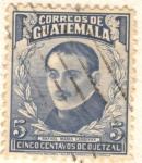 Stamps America - Guatemala -  Rafael Maria Landivar