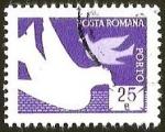 Sellos del Mundo : Europa : Rumania : POSTA ROMANA - PALOMA