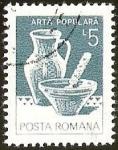 Stamps Europe - Romania -  POSTA ROMANA - ARTA POPULARA