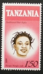 Sellos del Mundo : Africa : Tanzania : traditional hair styles