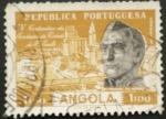 Sellos del Mundo : Africa : Angola : centenario fundacion ciudad s. paulo