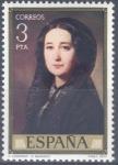 Stamps : Europe : Spain :  ESPAÑA 1977_2431 Pintores. Obras de Federico de Madrazo (1815-1894). Scott 2059