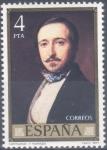 Sellos del Mundo : Europa : España : ESPAÑA 1977_2432 Pintores. Obras de Federico de Madrazo (1815-1894). Scott 2060