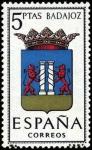 Stamps Spain -  Escudos