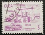 Sellos de America - Cuba -  niquel, exportaciones cubanas