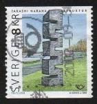 Sellos de Europa - Suecia -  Escultura de Takashi Naraha