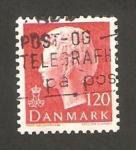 Sellos del Mundo : Europa : Dinamarca : reina margrethe II