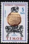 Stamps Asia - East Timor -  Arte indígena