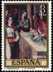 Stamps Spain -  Luis de Morales