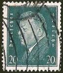 Stamps Germany -  DEUTSCHES REICH - FRIEDRICH EBERT