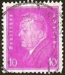 sellos de Europa - Alemania -  DEUTSCHES REICH - FRIEDRICH EBERT