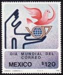 Stamps Mexico -  DÍA MUNDIAL DEL CORRÉO