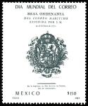 Sellos de America - México -  DIA MUNDIAL DEL CORREO