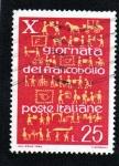 Stamps : Europe : Italy :  X GIORNATA DEL FRANCOBOLLO