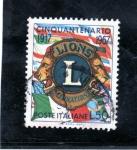 Stamps : Europe : Italy :  50 Aniversario de la Fundacion del Lions club