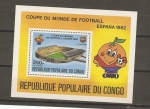 Stamps Africa - Republic of the Congo -  Mundial 82 España