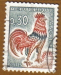 Stamps France -  GALLIC COCK