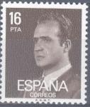 Sellos del Mundo : Europa : España : ESPAÑA 1980_2558 Don Juan Carlos I. Serie básica. Scott 2187