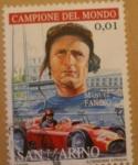 Sellos del Mundo : Europa : San_Marino : manuel fangio campeon del mundo