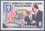 Stamps Spain -  ESPAÑA 1980_2576 50 Aniversario de la Primera Exposición Filatélica Nacional. Scott 2216