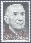 Stamps Spain -  ESPAÑA 1980_2578 Centenario del nacimiento de Ramón Pérez de Ayala. Scott 2218