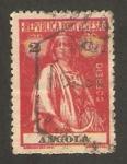 Stamps : Africa : Angola :  Ceres, diosa de la agricultura