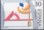 Stamps : Europe : Spain :  ESPAÑA 1995_3371.nu Deportes. Olímpicos de Plata. Scott 2822h