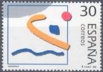Sellos de Europa - España -  ESPAÑA 1995_3377.nu Deportes. Olímpicos de Plata. Scott 2822n