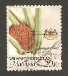 Sellos del Mundo : Asia : Malasia : 362 - producto agrícola, elaeis guineensis