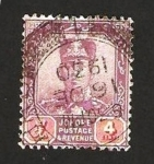 Stamps : Asia : Malaysia :  johore - sultán ibrahim
