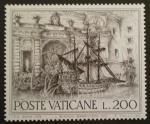 Stamps Vatican City -  año europeo patrimonio arquitectonico
