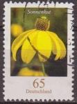 Stamps Germany -  ALEMANIA 2005 Scott 2316 Sello Flora Flor Equinacea Sonnenhut (Rudbeckia) 65 Usado Michel 2481 Allem