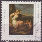 Sellos de Europa - Alemania -  Alemania 2010 Sello Pintura Angelika Kauffmann (1741-1807) usado Allemagne Duitsland Germania German