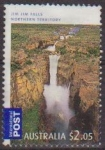 Sellos de Oceania - Australia -  Australia 2009 Sello Jim Jim Falls Northerm Territory usado