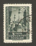 Stamps Turkey -  mezquita deemir sulktan en bursa