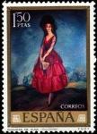 Stamps Spain -  Ignacio de Zuloaga