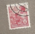 Stamps Germany -  Investigador