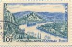Stamps France -  La Valée de la Seine