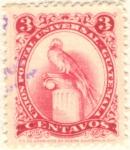 Stamps Guatemala -  Quetzal
