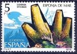 Stamps Spain -  2531 Fauna. Invertebrados. Esponja de Mar.