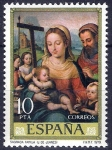 Sellos de Europa - España -  2538 Juan de Juanes. Sagrada Familia.