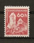 Stamps Czechoslovakia -  Castillos / Karluvtyn.