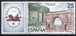 Stamps Spain -  2580 Exposición Filatélica de América y Europa. ESPAMER-80.