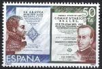 Stamps Spain -  2581 Exposición Filatélica de America y Europa. ESPAMER-80.